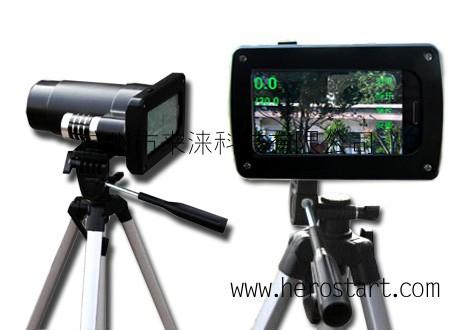 供应移动拍照高清雷达测速仪 HV300 手持拍照超速抓拍