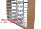 供应钢制木护板汇金图书馆专用双面书架