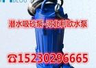 潜水式吸沙泵潜水泥浆泵NSQ80-70-25含次级叶轮搅拌轮