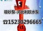 立式吸沙泵泥沙泵100NSL-28抽砂泵15KW4寸砂浆泵