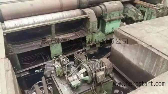 出售二手国产40-2米卷板机