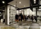 高端男女专卖店木质服装展柜