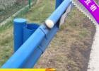 供应贵州双波护栏板,喷塑高速防撞护栏,十孔护栏板