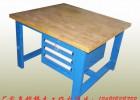 供应广州榉木实木钳工桌,番禺虎钳钢板钳工桌,花都重型钳工桌