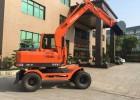 新源挖掘机XY75W-9轮胎式挖掘机