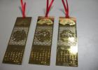 金属书签制作 镂空铜质书签生产、不锈钢批发书签厂家