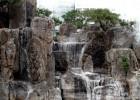 供应佳木斯建三江富锦同江人造假山瀑布景观雕塑