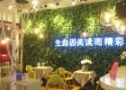 鸡西依兰建三江友谊县室内假山假树仿真植物墙价格