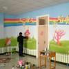 佳木斯幼儿园墙画墙体手绘
