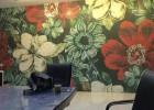 拼图艺术背景墙 欧式玄关 床头背景墙、沙发背景墙