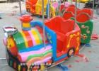厂家供应儿童喜欢的游乐设施 轨道小火车卡通动物小火车
