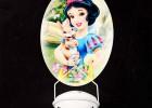 无痕挂钩 迪士尼品牌 家居创意免粘胶强力 椭圆形挂钩-6kg