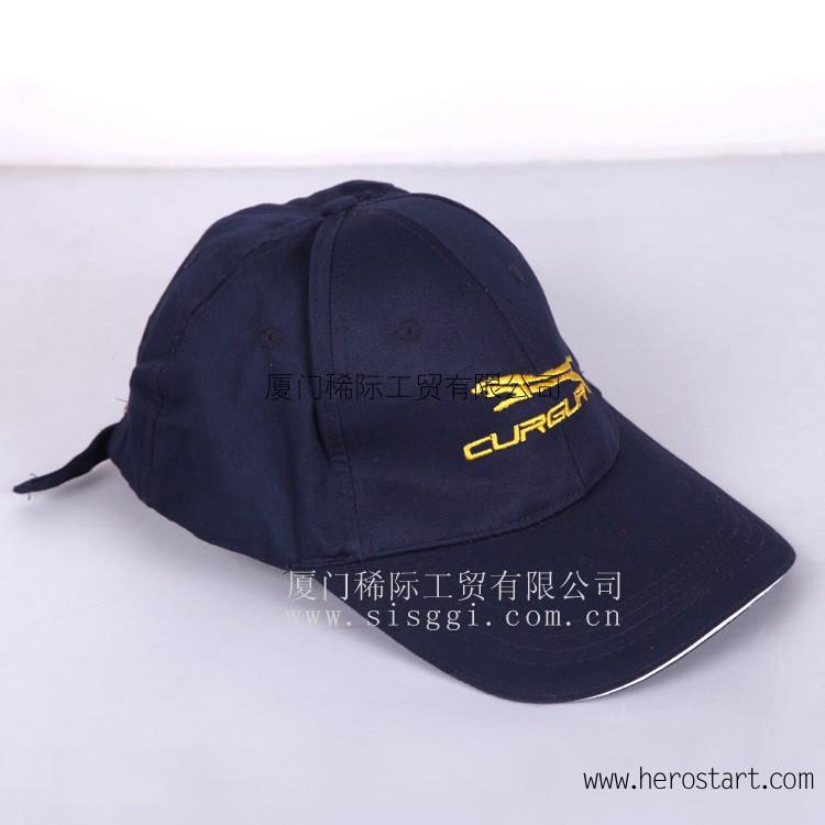 供应厦门鸭舌帽定做 厦门棒球帽定做 厦门订购鸭舌帽