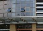 幕墙玻璃平开窗外墙改平开下悬窗玻璃改造开启窗