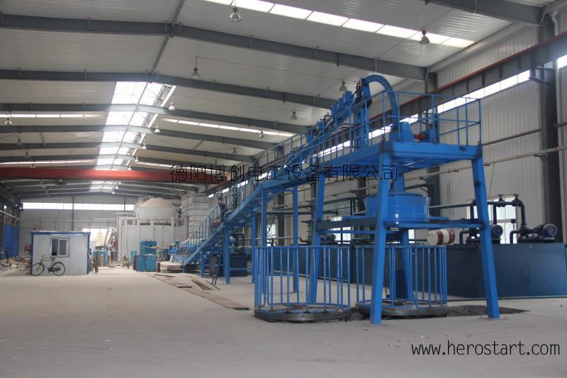铝合金杆连铸连轧生产线