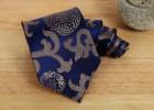 南京九五御帛中国风出国送老外领带