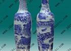 供应手绘青花清明上河图大花瓶 礼品大花瓶