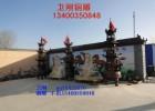 供应大型寺庙铸铁香炉,铸铁缸,塔炉