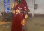 定制历史人物雕塑,铜雕岳飞,铜雕塑岳飞制作厂