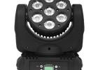 供应金耐特JNT-LY24 LED7颗10W 光束摇头灯