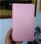 三折笔记本 活页 三折页笔记本 pu平装笔记本定制
