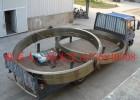 复合肥厂设备专用冷却机滚圈配件免费测量定制大型齿轮配件