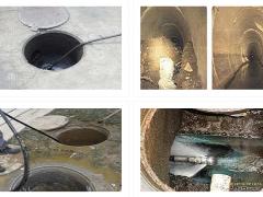 无锡污水管道疏通检测,管道窨井淤泥清理