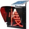 供应太阳能黄闪红慢灯 交通指示灯 信号灯厂家