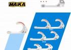 供应特价销售 矿用PVC 28电缆挂钩 舒适塑钢