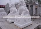 石雕狮子一对 广场景观动物 四大神兽摆件