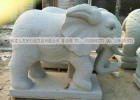 天然石头大象 招财镇宝神兽 门口风水摆件