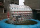 厂家直销水上滚筒 儿童戏水玩具水上滚筒球 休闲游乐滚筒玩具