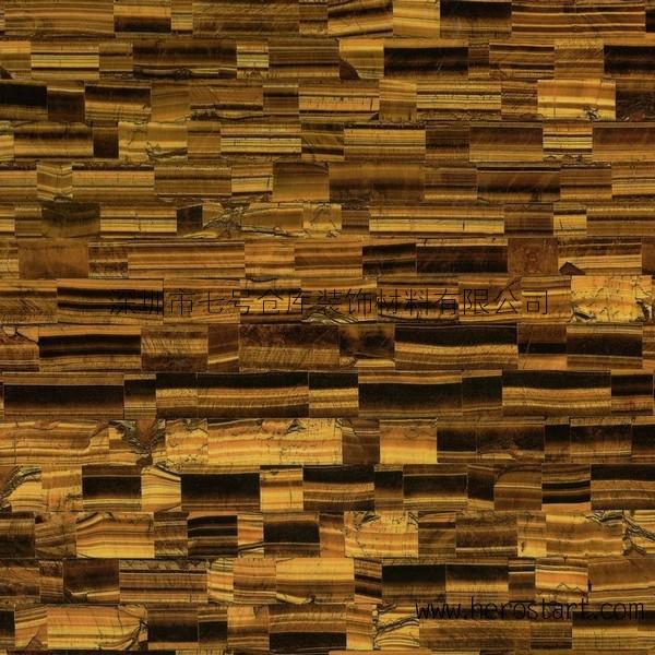 厂家生产各类半宝石及贝壳马赛克,虎眼石,玛瑙板,贝壳