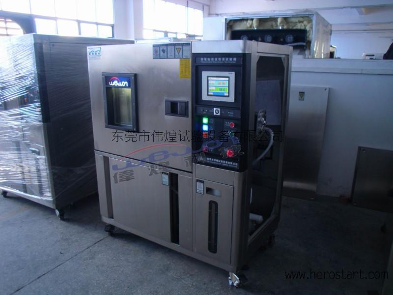 伟煌高低温冷热试验箱小型高低温湿热箱高低温交变箱可程式80L
