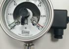供应轴向电接点压力表