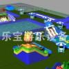 移动水乐园,水上乐园,水上游乐项目,郑州宝乐宝游乐