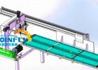钢跳板自动焊接设备