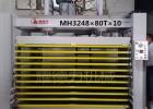 80T门厂液压式热压机多层板热压机
