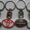 金属logo钥匙扣定做/深圳礼品钥匙链配件制作厂家