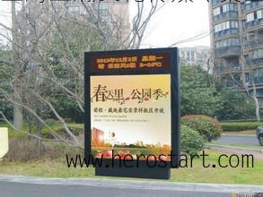 专业发布上海社区灯箱广告,亚瀚传媒强势代理