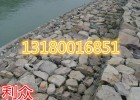 新型生态河道建设石笼网 热镀锌覆塑pvc石笼网箱