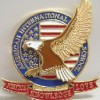 锌合金徽章制作/广东立体徽章订做设计人物徽章制作