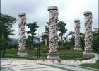 石雕石柱华表 汉白玉柱子华表 广场室内外小柱子