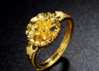 供应999千足金戒指批发定制 婚庆戒指定做 订做结婚戒指
