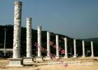 供应石柱子 欧式石柱 园林景观石头柱子