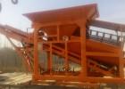 采沙场筛沙机沙石料场筛分机产量高