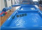 专业做充气水池的厂家  充气游泳池50平  室外充气水池