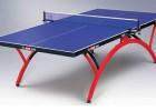 供应品牌乒乓球桌莱利单折式乒乓球桌