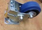 供应尚荣高弹力橡胶减震脚轮 弹簧减震脚轮