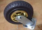 供应重型双轴发泡橡胶脚轮